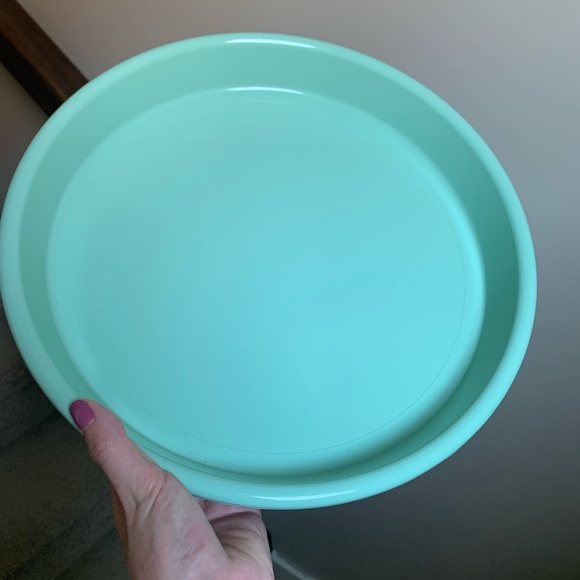 Vintage Tiffany Blue Serving Tray
